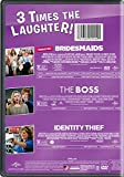 Bridesmaids / The Boss / Identity Thief 3-Movie Laugh Pack