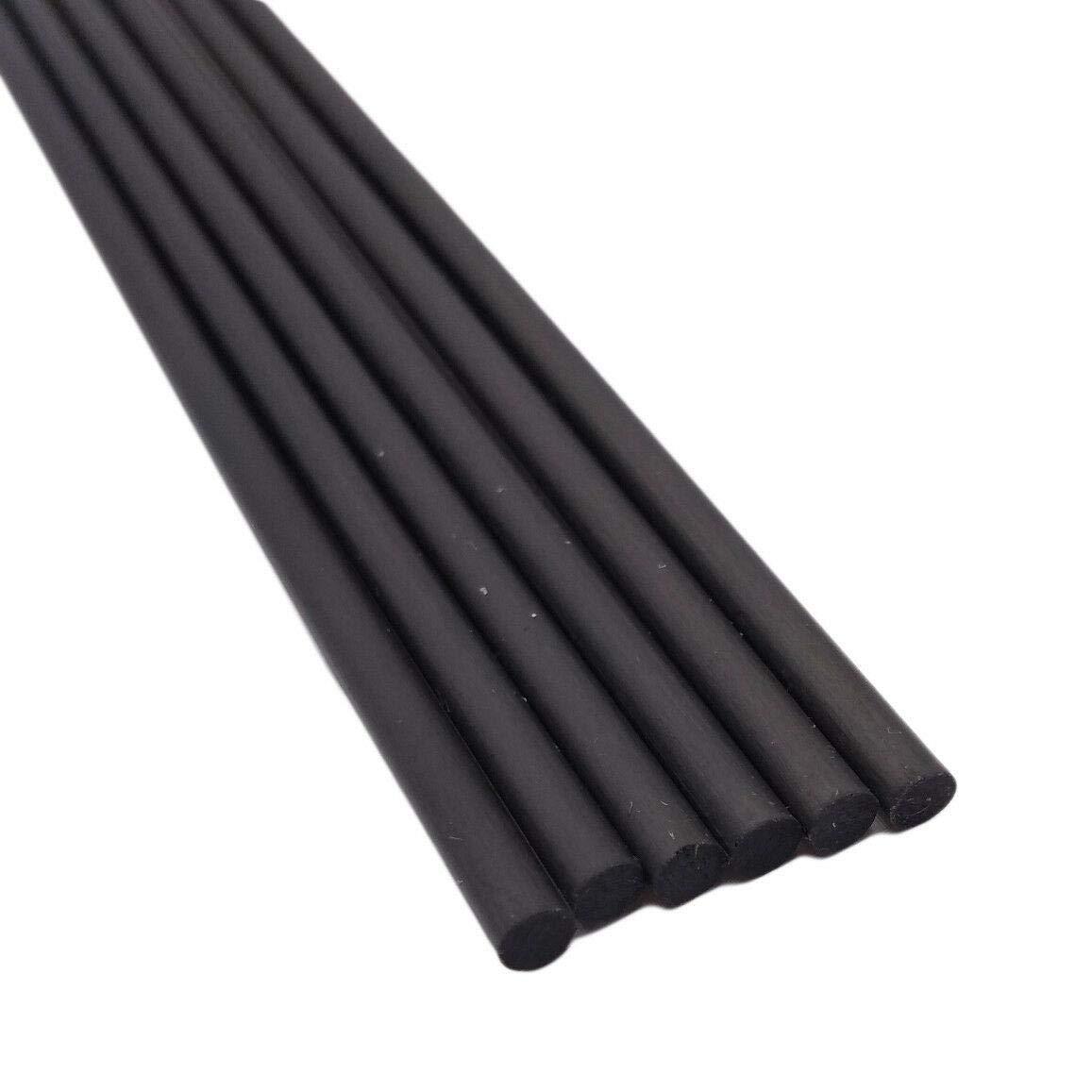6pcs Diameter 0.8mm Long 13 inch Carbon Fiber Rods Pole