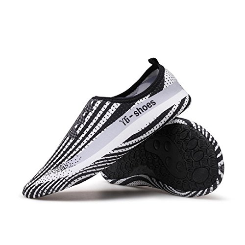 Men Women and Kids Quick-Dry Swim Water Shoes Lightweight Aqua Socks For Beach Pool Surf Yoga Exercise on SALE D