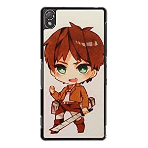 Hipster Cool Attack On Titan Phone Case Cover For Sony Xperia Z3 Wings of Liberty Stylish