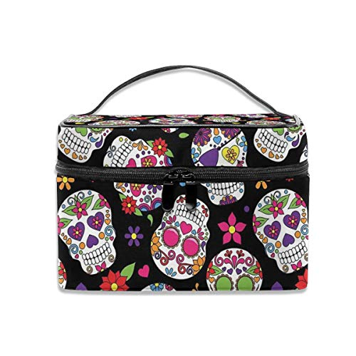 Travel Makeup Case Day Of The Dead Sugar