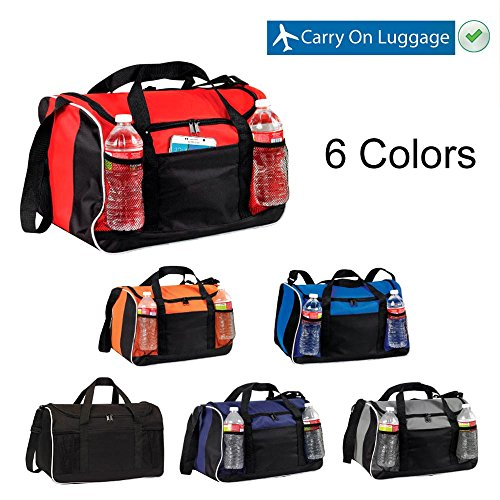 BuyAgain Duffle Bag, 17'' Small Travel Carry On Sport Duffel Gym Bag. by BuyAgain (Image #3)
