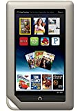 """Barnes & Noble Nook Tablet 8GB Touchscreen 7"""" WiFi Tablet eBook Reader - Android - Dual-Core 1 GHz processor w/ Expandable Memory and Extra-long Battery Life, Bundle (Certified Refurbished)"""
