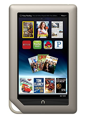"Free Barnes & Noble Nook Tablet 8GB Touchscreen 7"" WiFi Tablet eBook Reader - Android - Dual-Core 1 GHz processor w/ Expandable Memory and Extra-long Battery Life, Bundle"