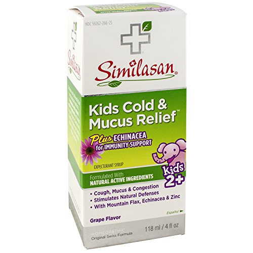 Similasan Kids Cold & Mucus Relief Syrup Plus Echinacea 4 oz ()