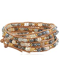 Mystic Labradorite Mix Wrap Bracelet