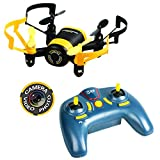 Luxon Mini Drone with Camera RC Quadcopter 6-Axis 4 Chancel (Yellow)