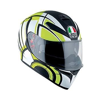 AGV k3-sv DVS Full Face casco de moto motocicleta tapa – Avior blanco/