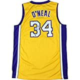 Shaquille Oneal Autographed Los Angeles Lakers Yellow/purple Replica Jersey