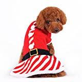 Dogo Santa Girl Dog Sweater Dress (Large) Review