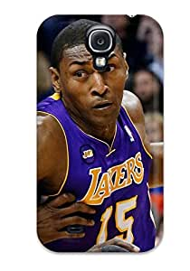 Galaxy S4 Case Cover Skin : Premium High Quality Los Angeles Lakers Nba Basketball (50) Case