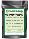 Coal-Conut (TM) - Coarse Granular Husk Activated Coconut Shell Charcoal - Food Grade (12/30 Mesh), 2 kg