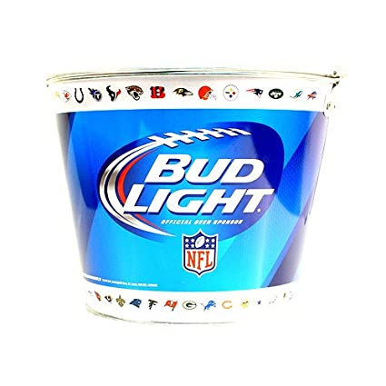 Bud Light Beer Ice Bucket NFL Teams