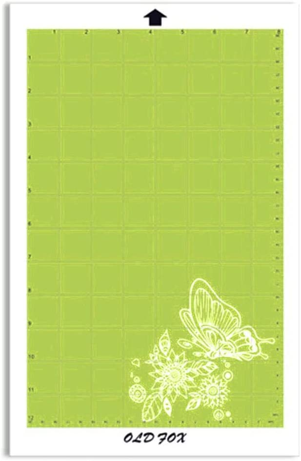 Reemplazo verde de corte Mat Mat almohadilla adhesiva transparente ...