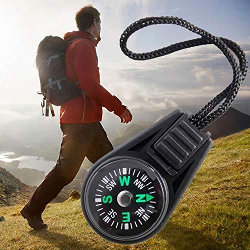 camping randonn/ée chasse Lot de 5 mini boussole mousqueton outil de guidage porte-cl/és pour activit/és de plein air voyage