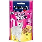 Vitakraft Cat Yums Cat snacks with Cheese (40 g. x 2 Packs.)