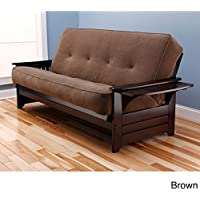 Phoenix Futon Sofa with Marmont Mocha Mattress