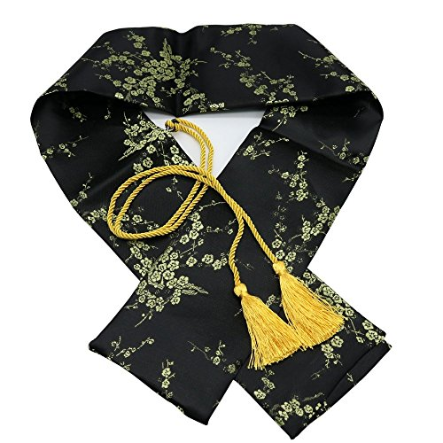 "51"" Silk Japanese Katana Samurai Wakizashi Tanto Sword Carry Bag with Golden Tassel"