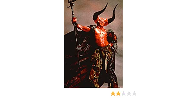 Tim Curry 24x36 Poster with Devil horns from Legend