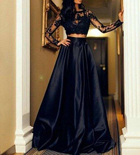 b4843aa5020 De Vestidos Noche Verano Vestido Bodas Lilicat® Falda Negro Blusas Mujer  Formal Fiesta Larga Sin Encaje ...