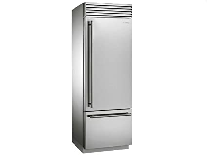 Smeg RF376RSIX Independiente 412L A+ Acero inoxidable nevera y ...