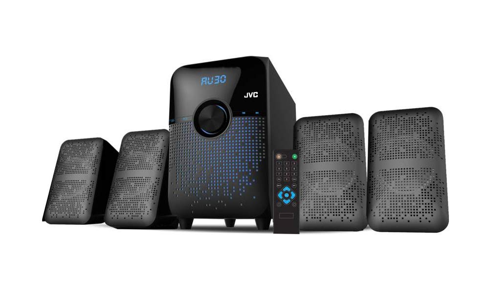 JVC XS XN41 40 W Bluetooth Home Audio Speaker  Black, 4.1 Channel