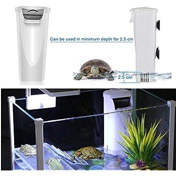 .com : zilla reptile habitat décor basking platform filter ...