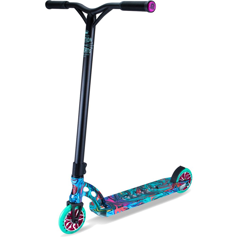 Madd Gear VX7 Extreme Swirl Rave Scooter Complete by Madd Gear