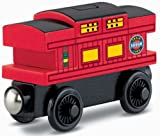 Fisher-Price Thomas & Friends Wooden Railway, Musical Caboose - Battery Operated