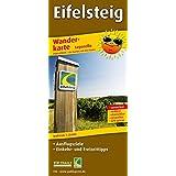 Eifelsteig: Leporello Wanderkarte mit Ausflugszielen, Einkehr- & Freizeittipps, wetterfest, reissfest, abwischbar, GPS-genau. 1:25000 (Leporello Wanderkarte / LEP-WK)