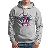 DVPHQ Men's Superior Angels Baseball Anaheim Hoodies Ash