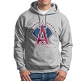 DVPHQ Men's Superior Angels Baseball Anaheim Hoodies Ash