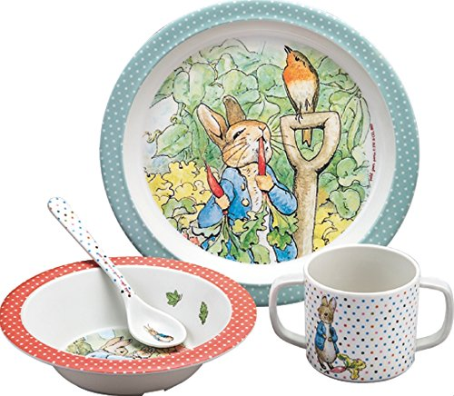 Petit Jour Paris Peter Rabbit 4 Piece Dining Gift ()