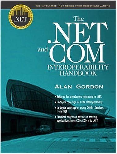 The .NET and COM Interoperability Handbook