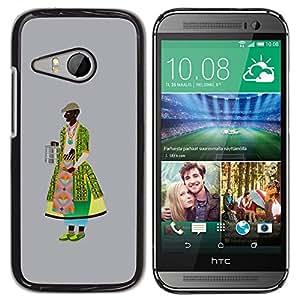 Be Good Phone Accessory // Dura Cáscara cubierta Protectora Caso Carcasa Funda de Protección para HTC ONE MINI 2 / M8 MINI // Middle Ages dressing