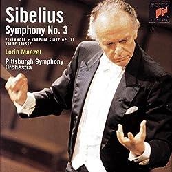 Sibelius: Symphony No. 3; Finlandia; Karelia Suite; Swan Of Tuonela