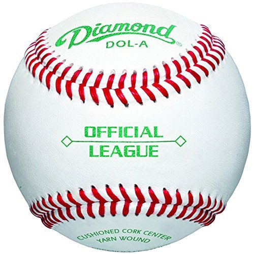 Diamond Dol-A Official League Leather Baseballs 12 Ball Pack