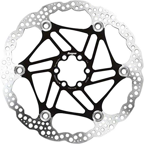 Hope Floating Disc Rotor: 180mm Black