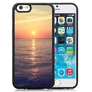 Custom Designed Cover Case For iPhone 6 4.7 Inch TPU With Sea Sunrise Phone Case Diy ka ka case