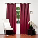 Best Eclipse Home Fashion Thermal Insulated Blackout Tie-up Window Shades - Best Home Fashion Tab Top Thermal Insulated Blackout Review