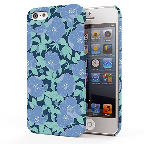 Koveru Back Cover Case for Apple iPhone 5S - Anemone flower pattern