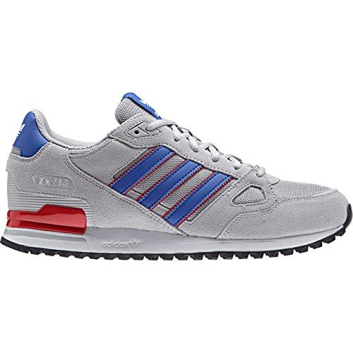 adidas Zx 750, Zapatillas de Deporte para Hombre Gris (Gridos / Azul / Rojbas)