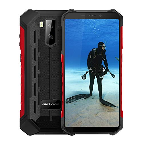 Ulefone Armor X5(2020) Rugged Phones Unlocked, Android 10 Octa-core 3GB + 32GB ROM 13MP+2MP+5MP Triple Camera 5.5″ HD+ Screen 5000mAh Battery Dual 4G Rugged Smartphones
