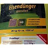 Eisendünger granuliert 25 Kg Neu, optimierte Ausbringung, staubarm