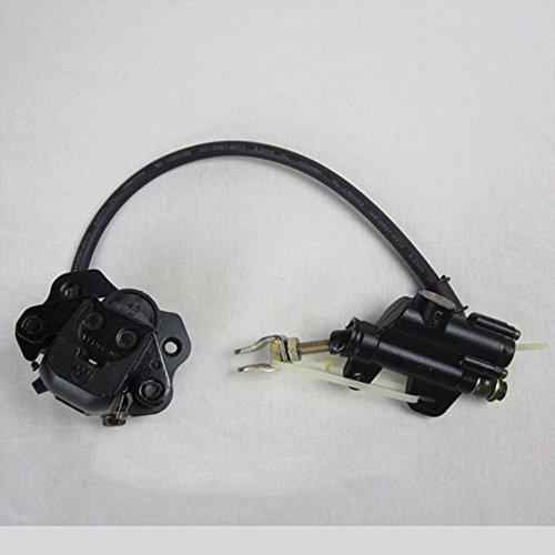 Cylinder Assembly M6 (GoKartExports Rear Hydraulic Foot Brake Master Cylinder Assembly for 110cc 125cc 4-Wheel Quad ATV)