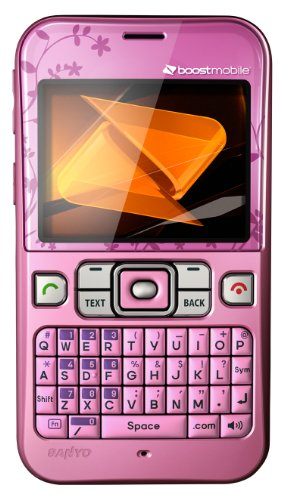Sanyo Juno Prepaid Phone, Pink (Boost Mobile) by Sanyo