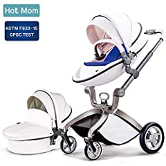 Global limit Edition Baby Stroller EGG, is born!       the perfect luxury stroller with bassinet 3 in 1 for parent who want fashion travel. Emphasizing ergonomics, a trend design, lightweight, stable and safely. Easy installation, easy...