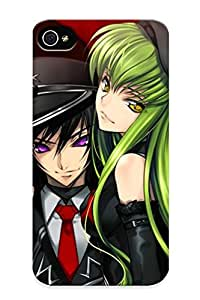Eatcooment New Arrival Iphone 4/4s Case Code Geass - Lelouch Of The Rebellion Case Cover/ Perfect Design