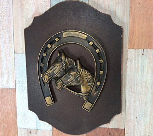 - Wall Decor Horse Equine Steed Mount Plaque Wall Plaque Vintage Produce Crate Label