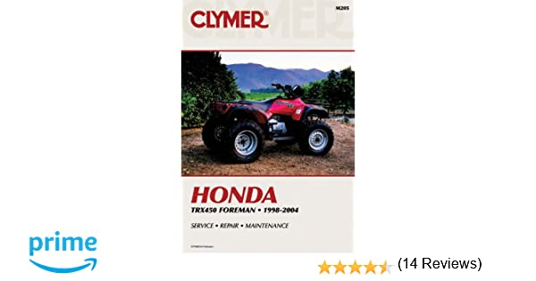 Honda trx450 foreman 1998 2004 atv vendor id m205 penton staff honda trx450 foreman 1998 2004 atv vendor id m205 penton staff 9780892878963 amazon books fandeluxe Choice Image